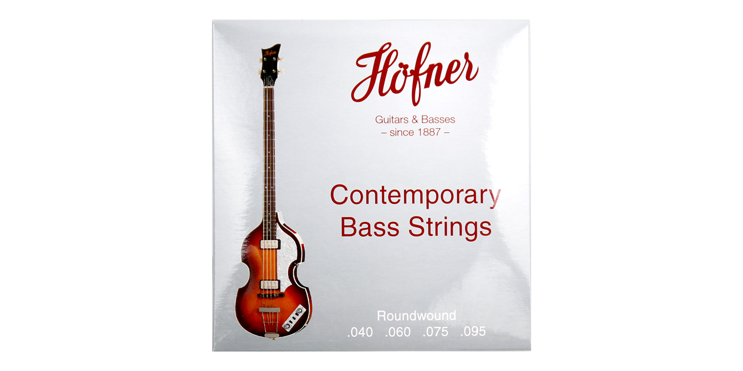 Hofner Bass Strings - Contemporary - Roundwound-1