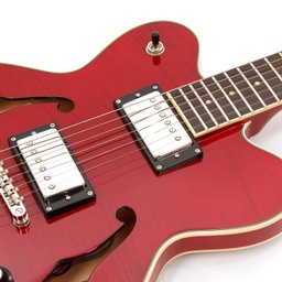 Verythin Deluxe Transparent Red-5