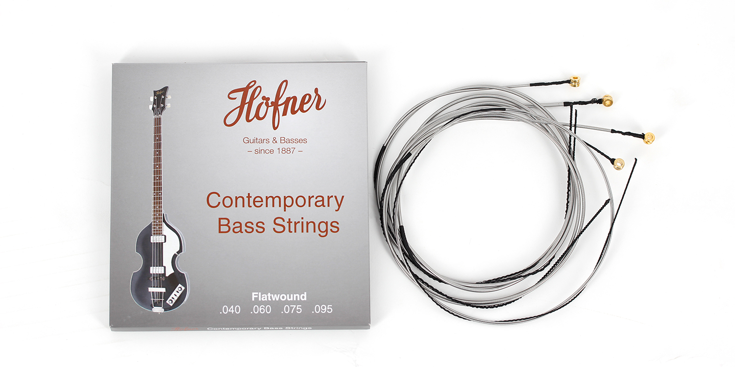 Hofner Bass Strings - Contemporary - Flatwound-1