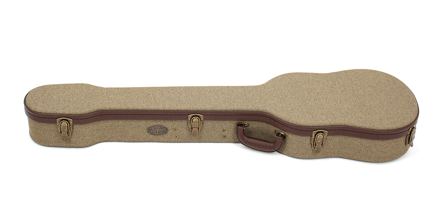 Case - Violin Bass Vintage Style-1
